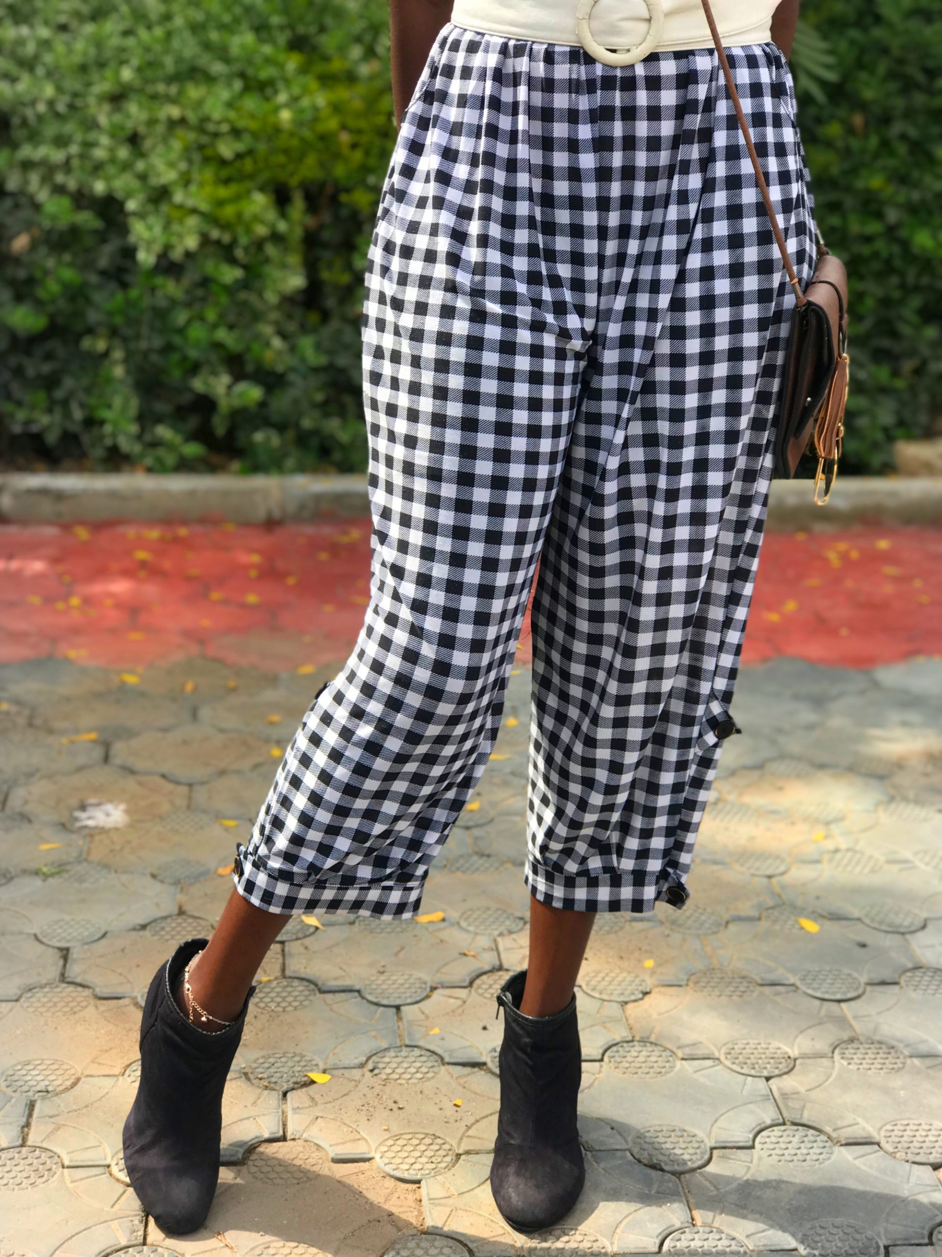 STYLING PLAID PANTS FOR AN EVENT 101